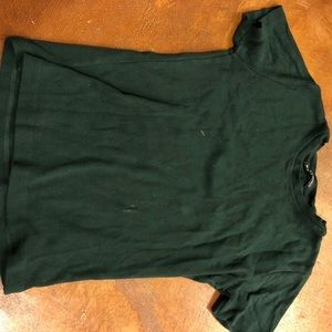 Forest green brandy Melville tee
